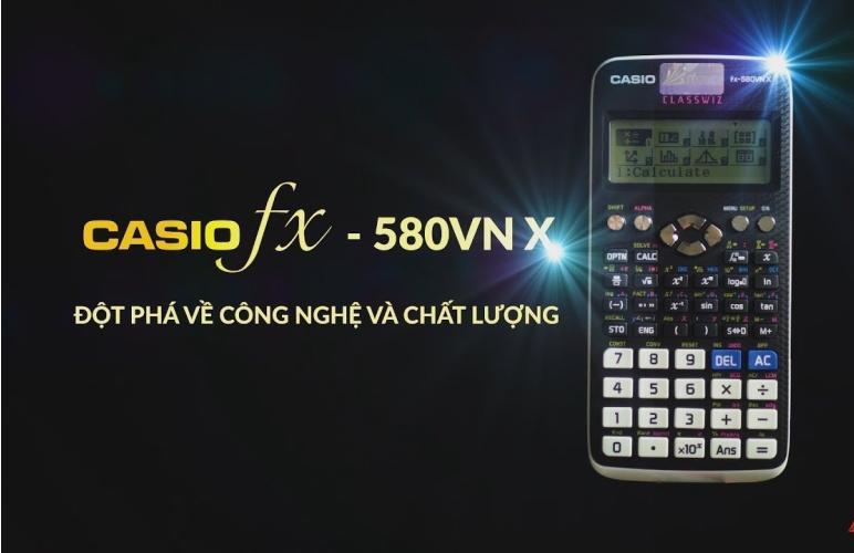Cách sử dụng máy tính casio fx 580vnx