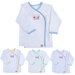 Áo sơ sinh cho bé chuẩn bị trong giỏ đồ đi sinh ở bệnh viện
