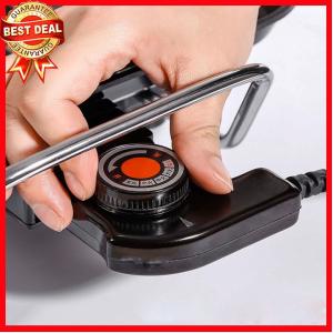 nút vặn chỉnh các thông số nhiệt độ của Bếp nướng điện kiêm nồi lẩu BP2462