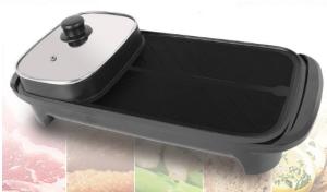 hình dáng toàn bộ của Bếp nướng điện kiêm nồi lẩu BP2462