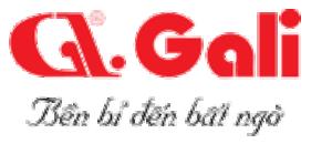 logo thương hiệu bếp điện từ Gali