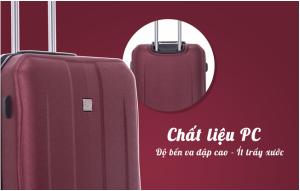 vali nhựa giảm giá Briona-AD1747 có chất liệu nhựa cao cấp bền bĩ