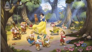 Nàng Bạch Tuyết và bảy chú lùn - trong truyện cổ Grimm
