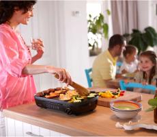 bếp nướng điện không khói đảm bảo sức khỏe gia đình tốt hơn khi nấu nướng, sinh hoạt ăn uống