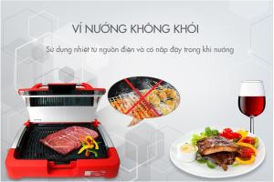 bếp nướng điện không khói Elmich EGE 0704 là một trong các sản phẩm tốt nhất không tạo khói gây hại sức khỏe con người