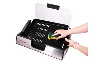 bếp nướng điện không khói SUNHOUSE SHD4603 dễ lau chùi vệ sinh sau khi nướng xong