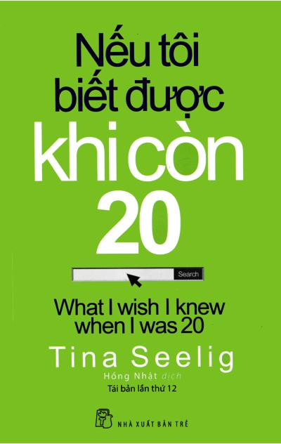 """Bìa sách """"nếu tôi biết được khi còn 20"""""""