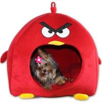 nhà kiểu chim angry đỏ cho chó trong phụ kiện thú cưng petcity