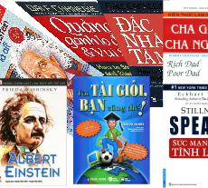 quẳng gánh lo đi và vui sống, đắc nhân tâm, sức mạnh của sự tĩnh lặng...là bộ sưu tập những quyển sách hay nên đọc dành cho giới trẻ thanh thiếu niên ngày nay