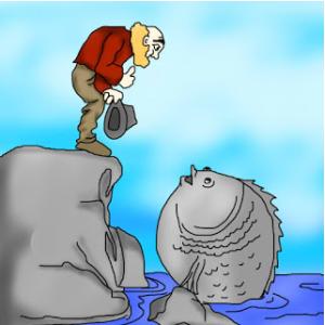 Câu chuyện Ông già và biển cả