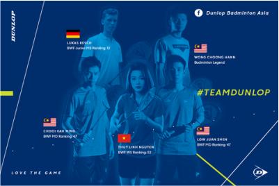 team quần áo thể thao nam nữ cao cấp của Dunlop