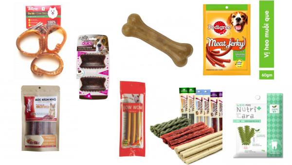 Các loại thức ăn yêu thích cho chó có giá rẻ tại Petcity