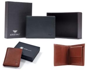 Đây là các sản phẩm ví da nam nhỏ gọn đến từ các phụ kiện thời trang cao cấp của các hãng Efora, Aristino, Huy Hoàng, Sam Leather