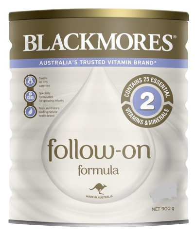 Sữa bột Blackmores số 2, cho trẻ từ 6-12 tháng - Blackmores Follow On Formula 900g