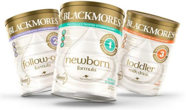 Sữa bột Blackmores số 1, 2, 3