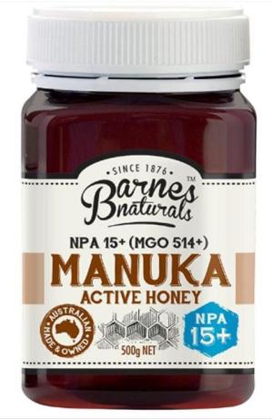 Siêu mật ong Manuka Honey 15+ 500g, CỦA ÚC