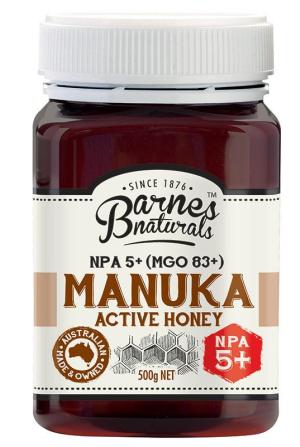 Siêu mật ong Manuka Honey 5+ 500g CỦA ÚC