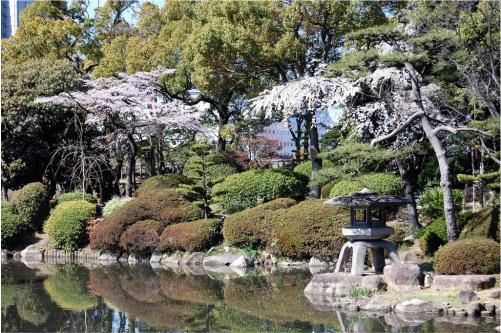 Vườn Nishinomaru, Nhật Bản