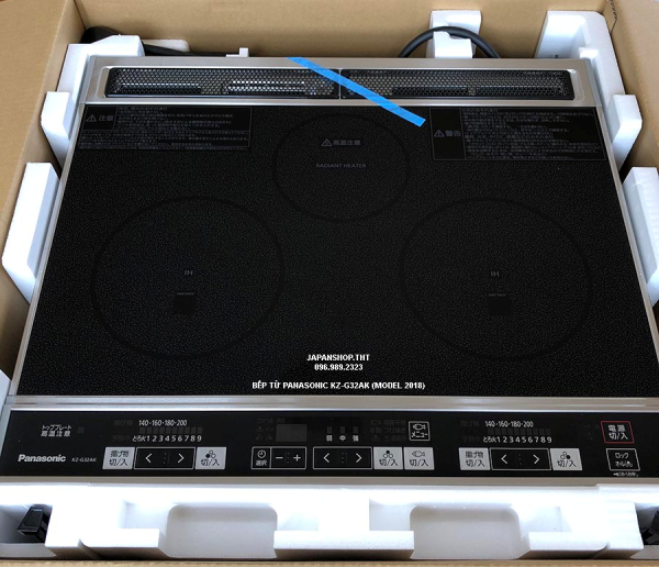 Bếp từ nội địa Nhật, Panasonic KZ-G32AK được xếp đánh giá bếp từ nhật loại nào tốt