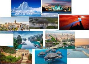 những địa điểm đẹp nhất trên thế giới