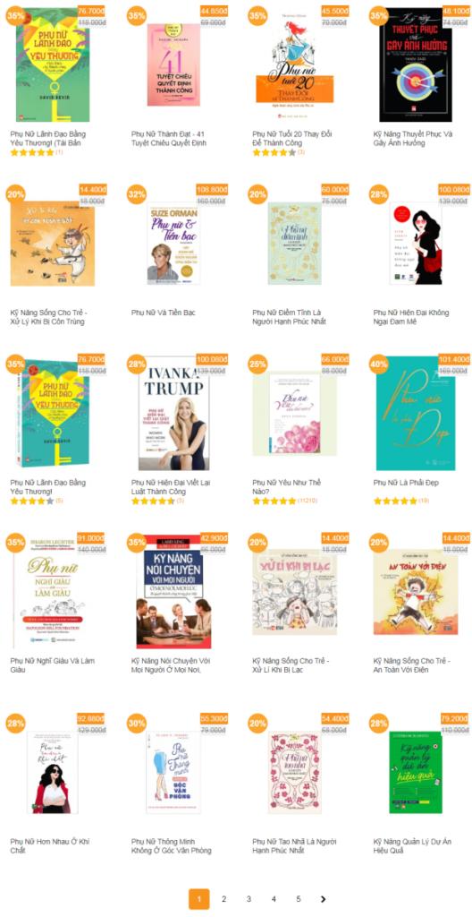 Các quyển sách người phụ nữ trưởng thành nên đọc