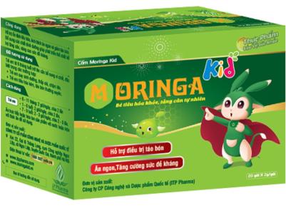 công dụng của Cốm Moringa Kid, chiết xuất từ cây chùm ngây và vi tảo giúp bé ăn ngon hơn