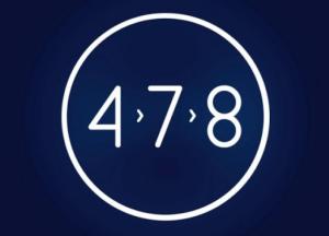 Phương pháp ngủ theo kỹ thuật hít thở sâu 4 7 8 là cách thực hành của yoga, giúp giảm căng thẳng và dễ ngủ hơn