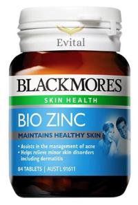 Viên uống bổ sung kẽm Blackmores Bio Zinc 84 Viên nén