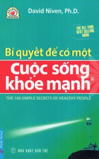 """sách """"bí quyết để có một cuộc sống khỏe mạnh"""""""