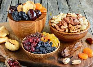 5 loại trái cây sấy khô tốt cho sức khỏe nhất